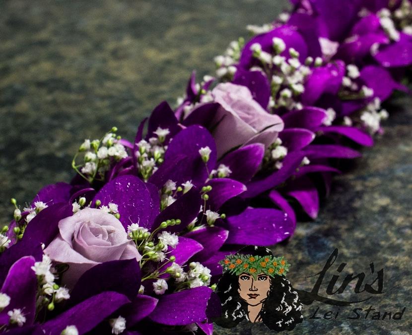 Hawaiian flowers made into Hawaiian Leis