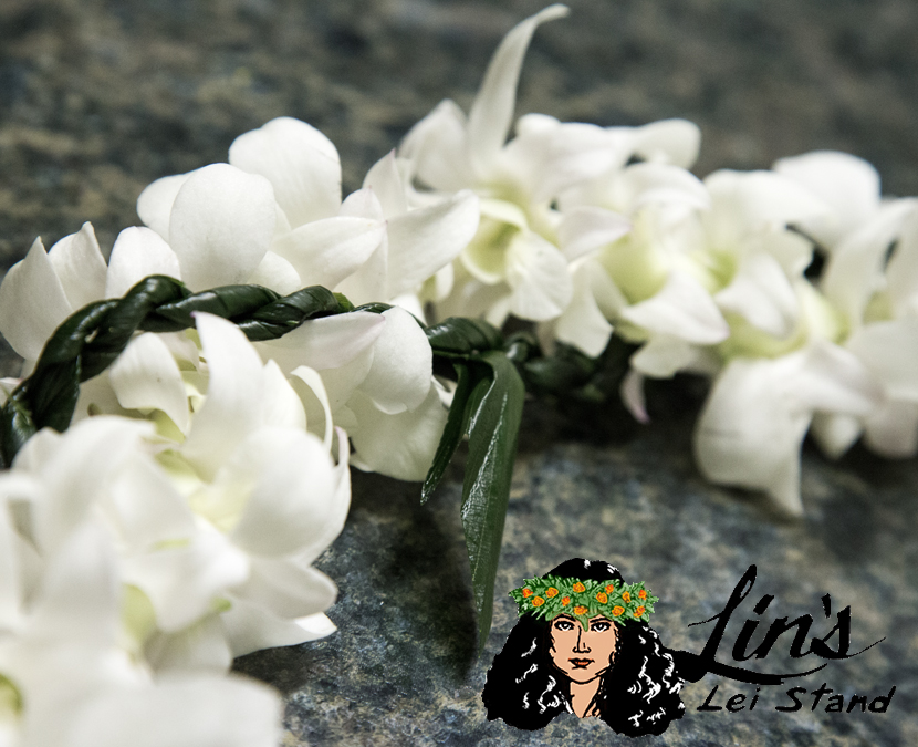 Orchid and Ti Leaf Braid